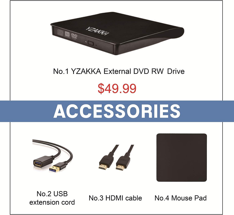 Beat i5-7200U up to 3.6GHz| 4GB DDR4 RAM| 128GB SSD| Windows 10 Professional YZAKKA External DVD+ Accessories 2020 Intel NUC Mini PC Kit Desktop Computer| 8th Gen Intel Core i3-8109U