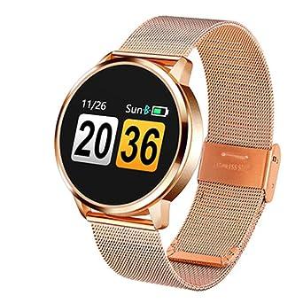 Relojes Inteligentes Q8 Plus Rose Smart Watch Color Screen ...