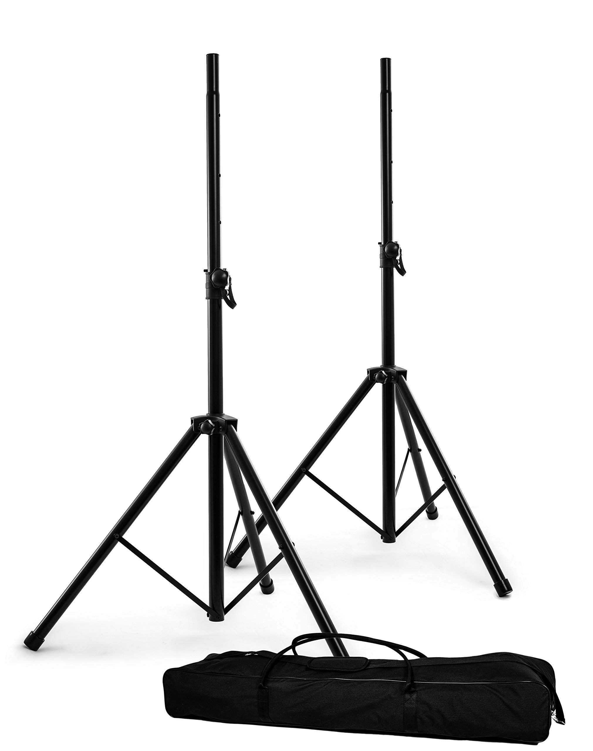 Nomad NSS-8033PK Two 8033 Speaker Stands with Carry Bag