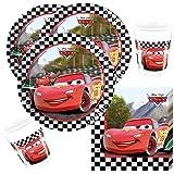 36 Teiliges Disney PIXAR Party Set Cars Formula   Teller Becher Servietten  Für 8