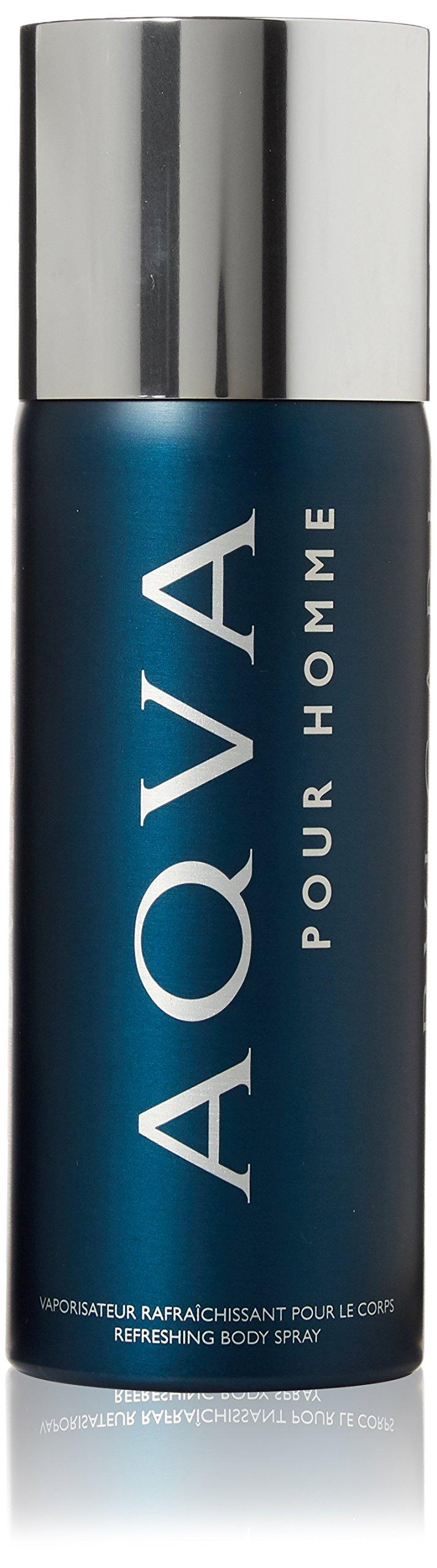 Bvlgari Refreshing Body Spray for Men, Aqva, 5.07 Ounce