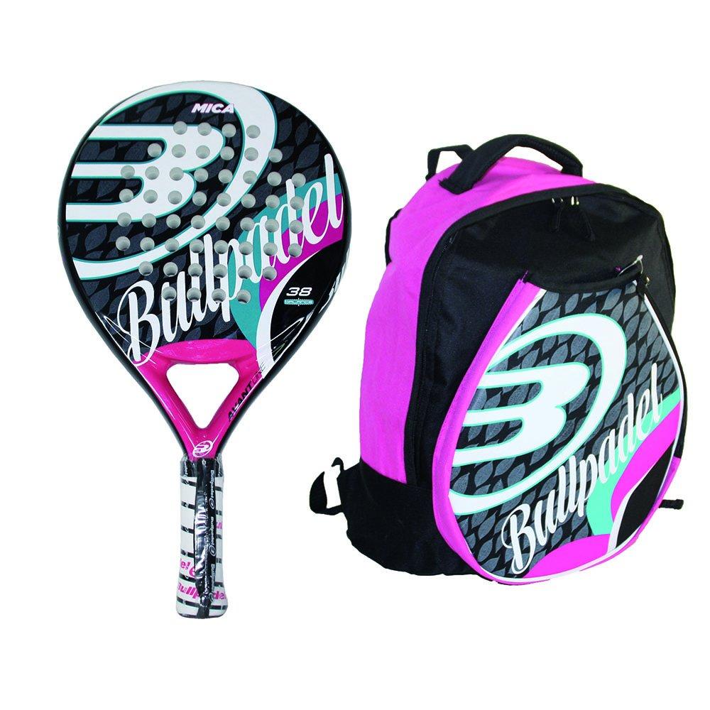 Bull padel Mica - Pack de Pala de pádel y Mochila para Mujer: Amazon.es: Deportes y aire libre