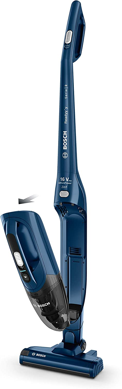 Bosch Elektrohaushaltsgerät Readyy'y Serie 2 BCHF216S, kabelloser Handstaubsauger, Blau