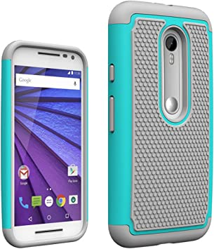 AIBULO Motorola moto g tercera generación Case - Funda para ...