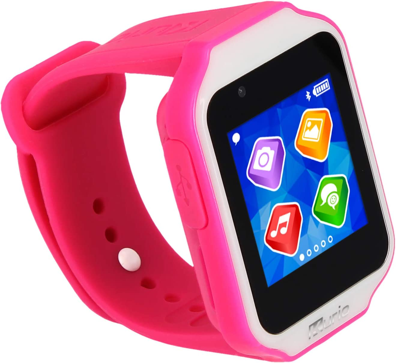 Kurio Glow Smartwatch for Kids with Bluetooth, Apps, Camera & Games, Pink