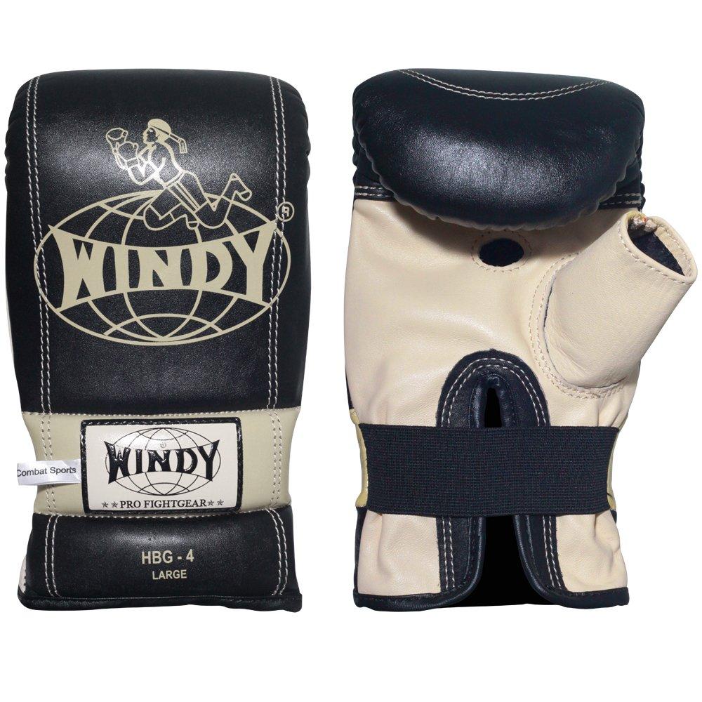Windy Slip-On Bag Gloves, Black