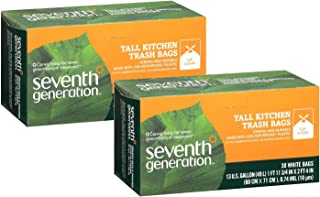 product image for Seventh Generation Tall Kitchen Bags, 13 gallon, 30 ct, 2 Pack
