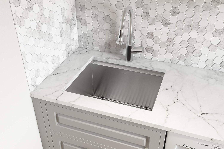 Amazon.com: Ruvati RVU6320 - Fregadero para lavandería (23 ...