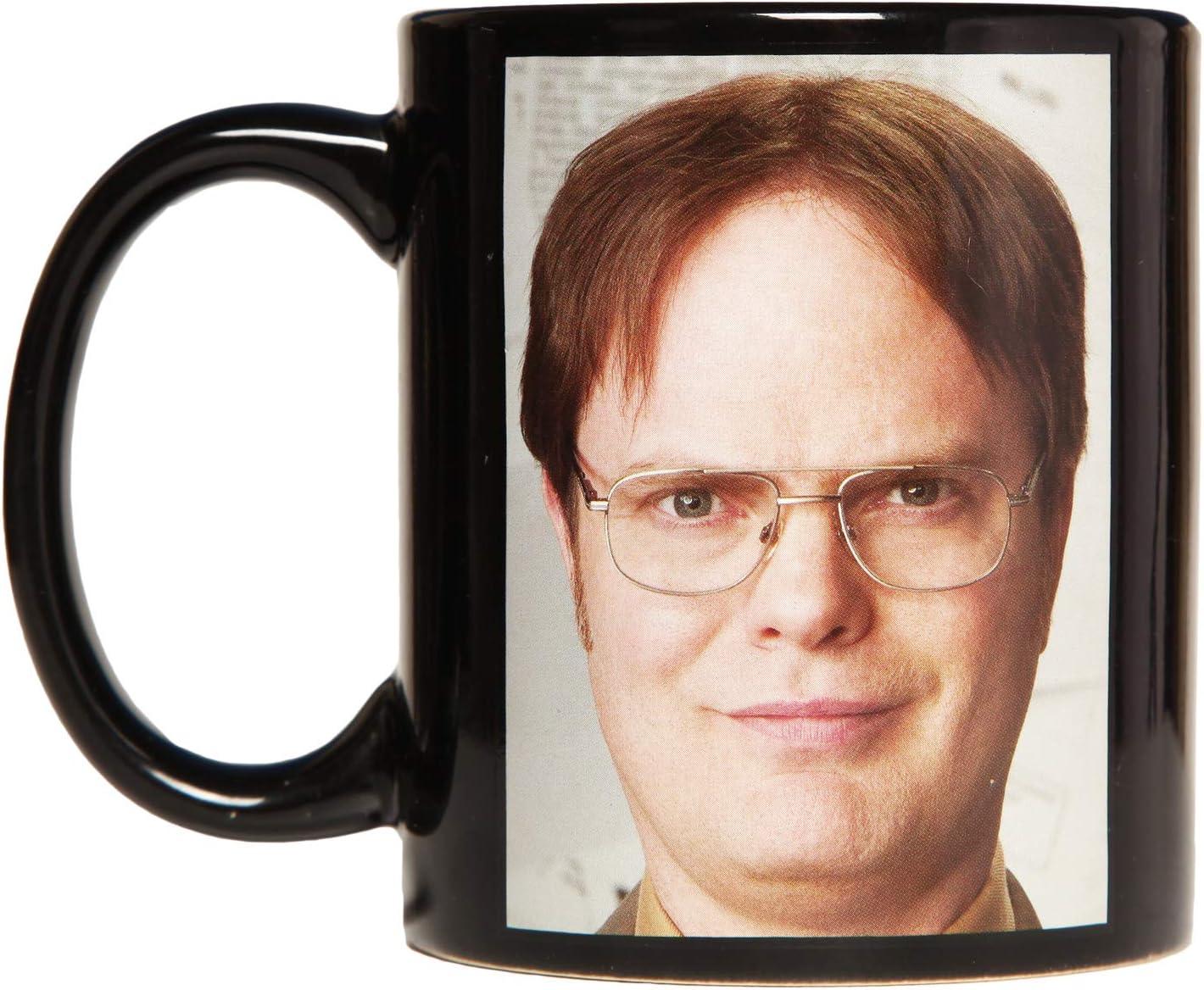 The Office Dwight Acronym 12 oz. Heat Change Ceramic Mug