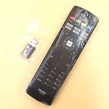 Nuevo mando a distancia htr-u07h para Haier LCD LED Smart TV htr-u07h le50b7500u le55b7500u teclado: Amazon.es: Electrónica