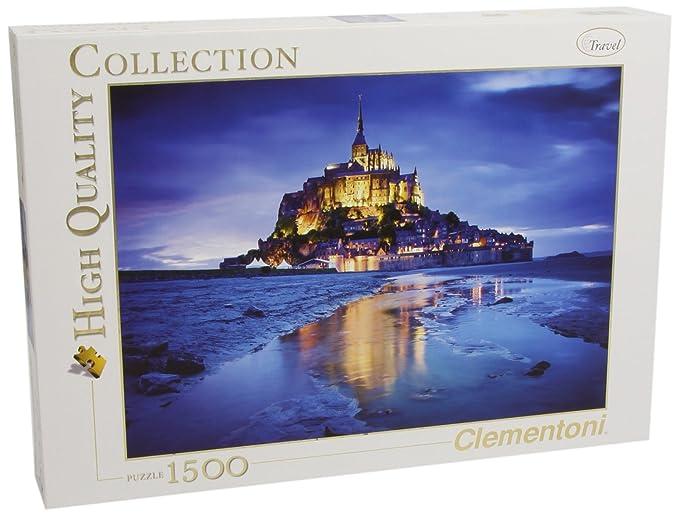 86 opinioni per Clementoni 31994- Puzzle Collezione Alta Qualità Le Mont St.Michel di Notte,