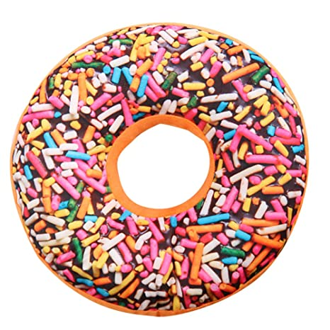 Jushi Cojín de Donut Realista con Forma de Donut para ...