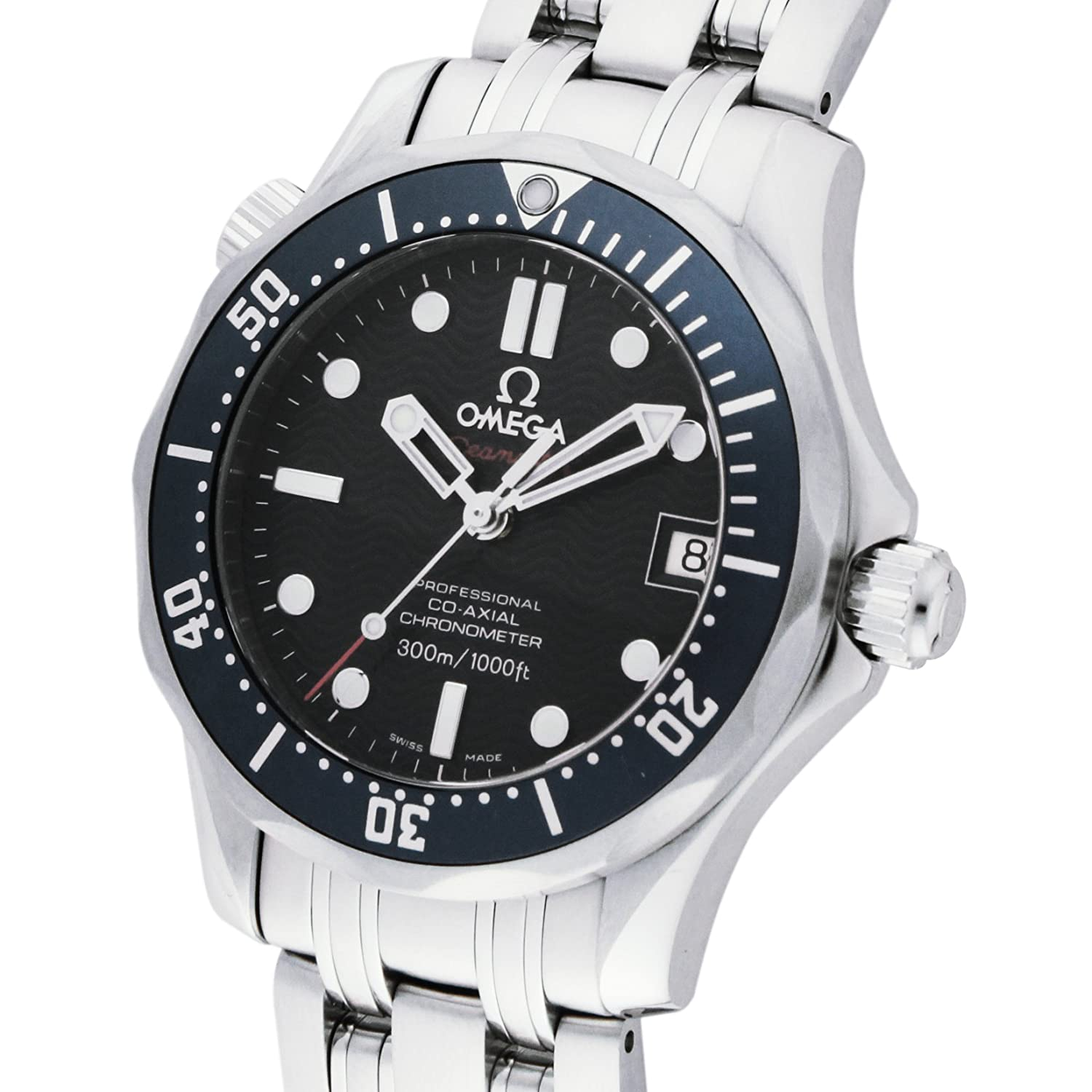 0bef169f2bd0 Amazon.com  Omega Men s 2222.80.00 Seamaster 300M Chronometer  Omega   Watches