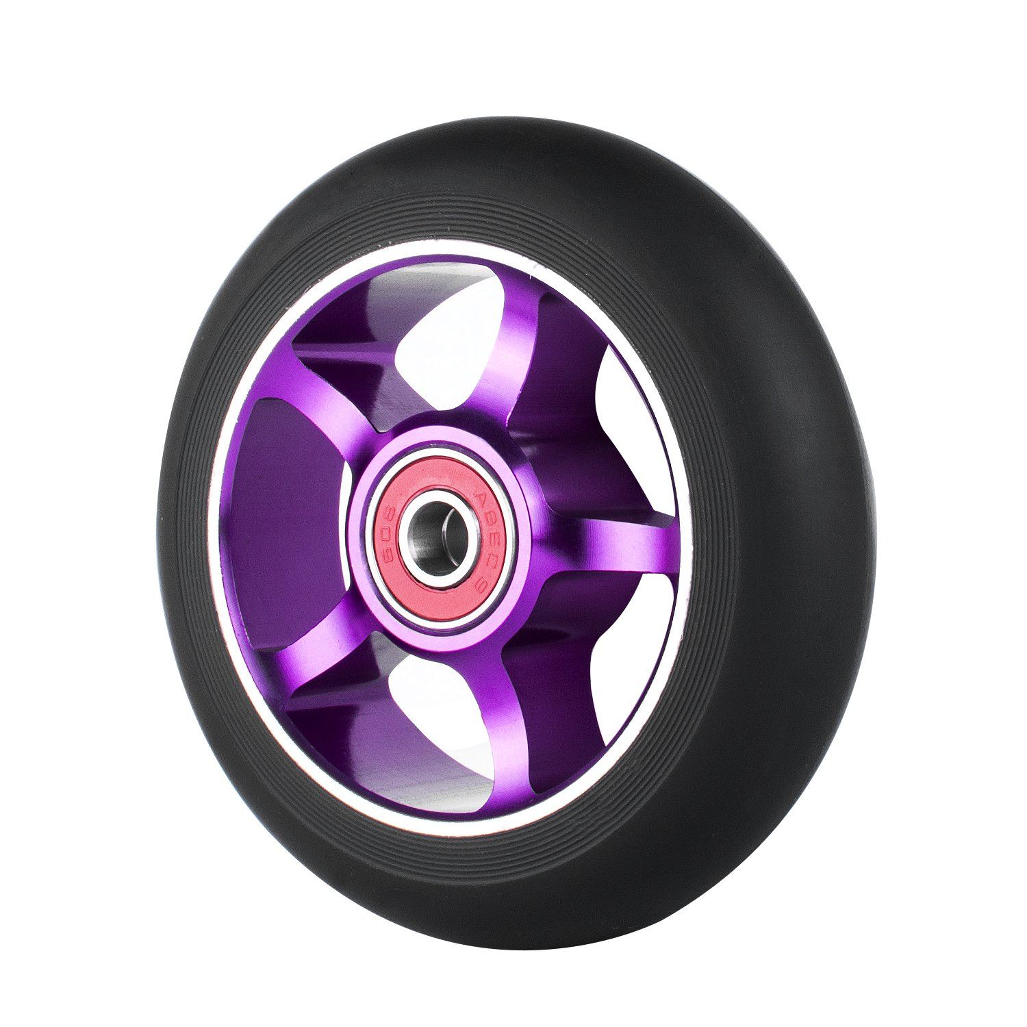 Z-FIRST 2Pcs 100 mm Pro Stunt Scooter Wheels with