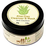 Mitti Se Aloe Clay Cleanser & Mask - 80Gm