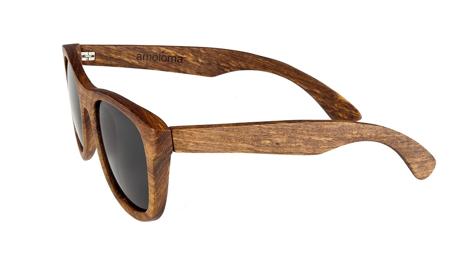 amazoncom pear wood sunglasses wayfarer design shoes - Wood Frame Glasses
