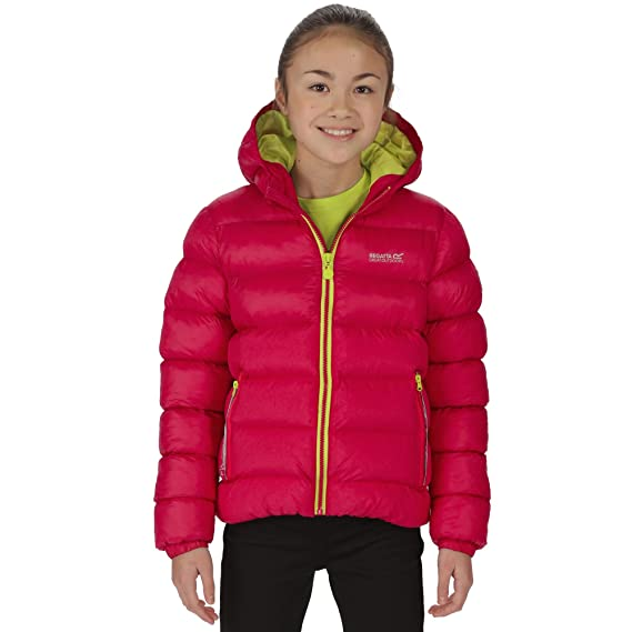 3d9600c34 Regatta Great Outdoors Childrens/Kids Lofthouse Insulated Hooded Jacket  (9-10 Years) (Dark/Cermillion): Amazon.co.uk: Clothing