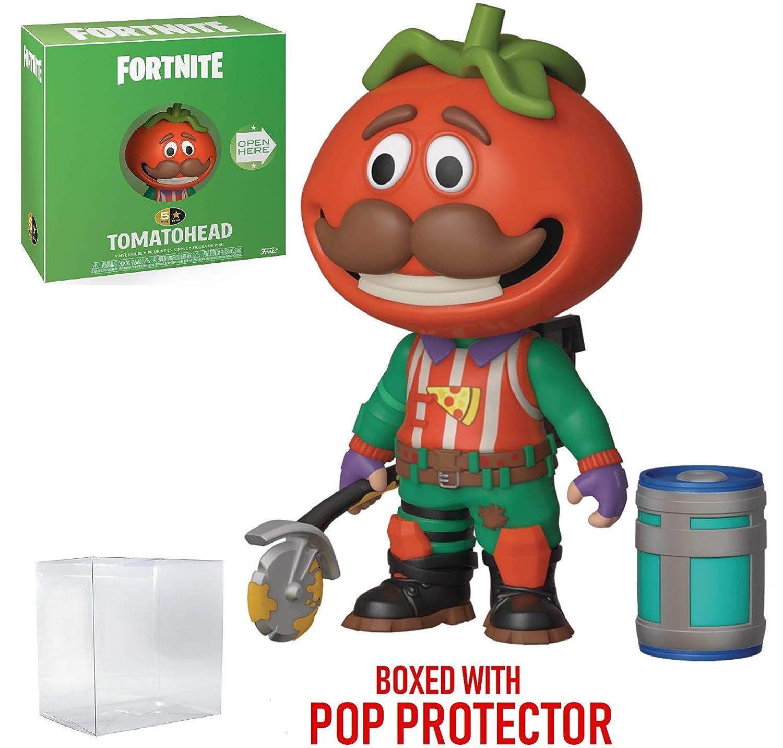 Tomatohead Funko 5 Star Action Figure Fortnite Includes Compatible Pop Box Protector Case