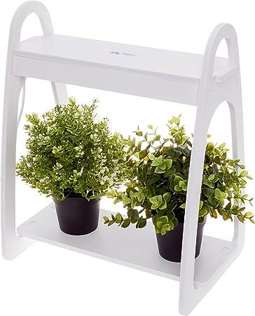 Mindful Design LED Mini Indoor Herb Garden   Home Counter Top Herbs/Vegetable  Planter (