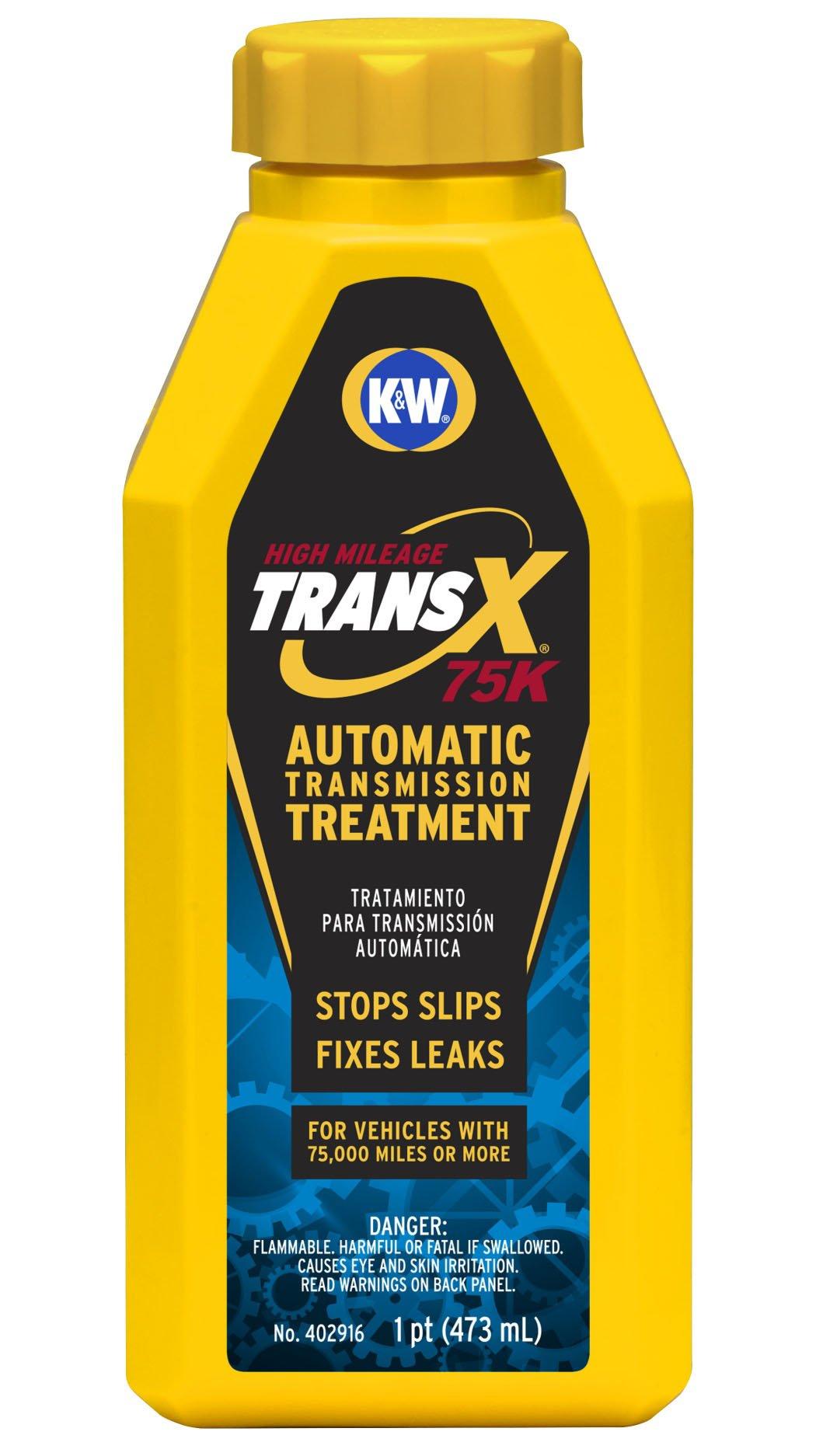 K&W 402916x6 Trans-X High Mileage Automatic Transmission Treatment - 16 Fl Oz by K&W