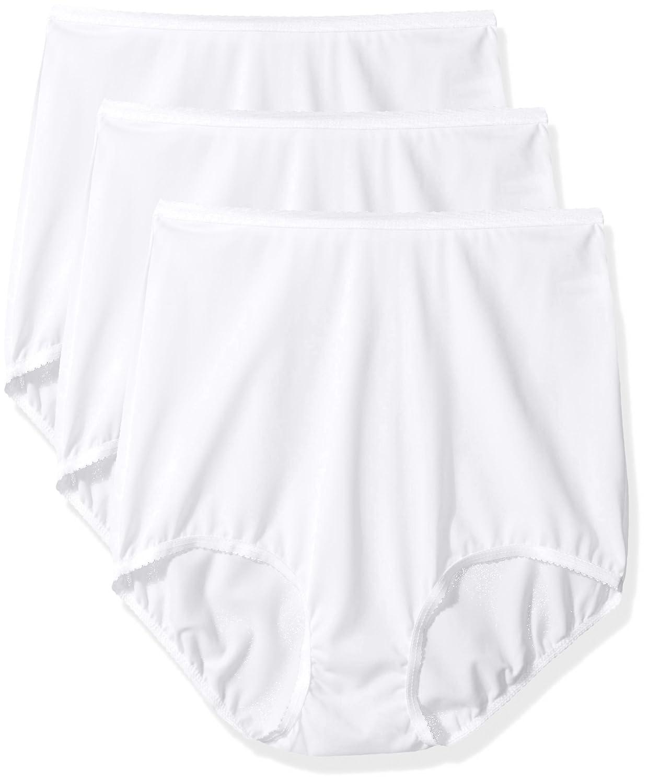 Shadowline womens Women's Panties - Seamless Nylon Brief (3 Pack) Shadowline Sleepwear 17017