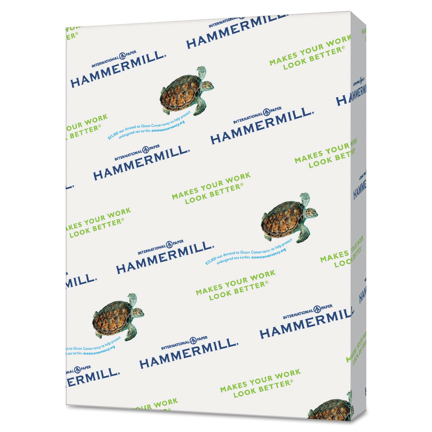 Hammermill 102160 Recycled Colored Paper, 20lb, 11 x 17, Goldenrod, 500 Sheets/Ream