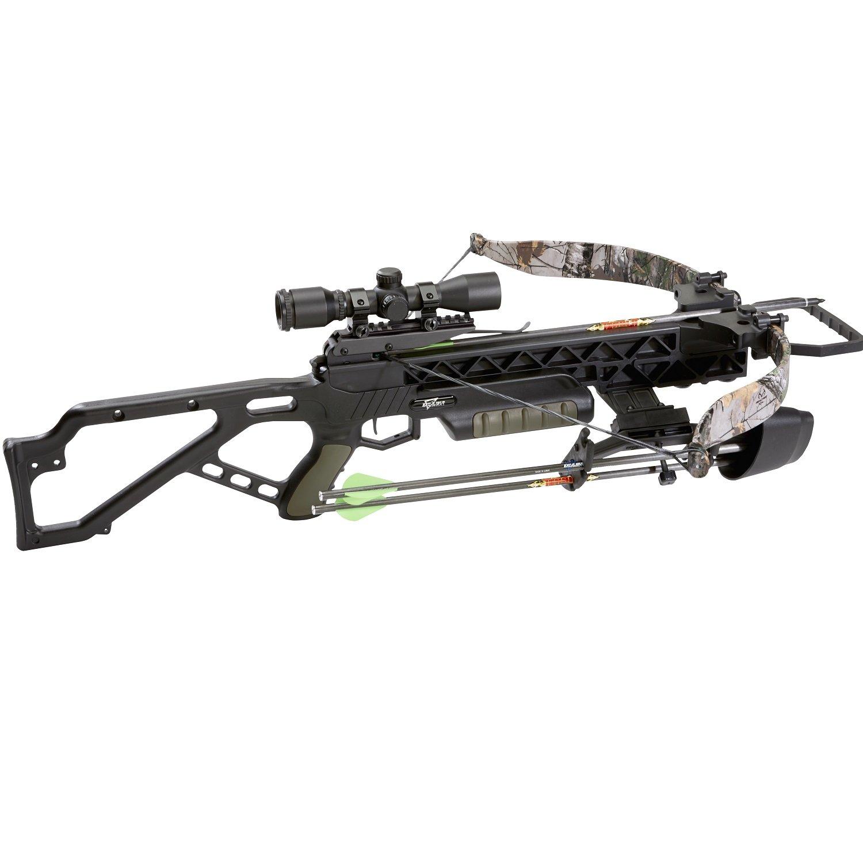 Excalibur 1108708 E95922 Matrix Grz 2 Crossbow Package, Black/Camo, One Size