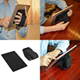 Universal Tablet Hand Strap & Stand Holder for All iPads (New iPad/iPad Air/iPad Mini/iPad Pro) and All Sizes of Tablets / e-readers or other Android Devices