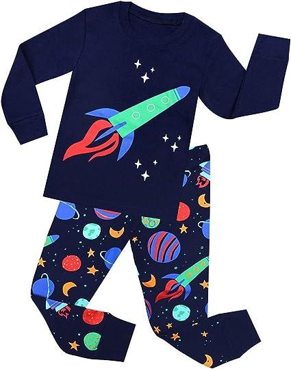 Niño Niña Animales Pijama De Algodón Ropa De Dormir Pijamas ...