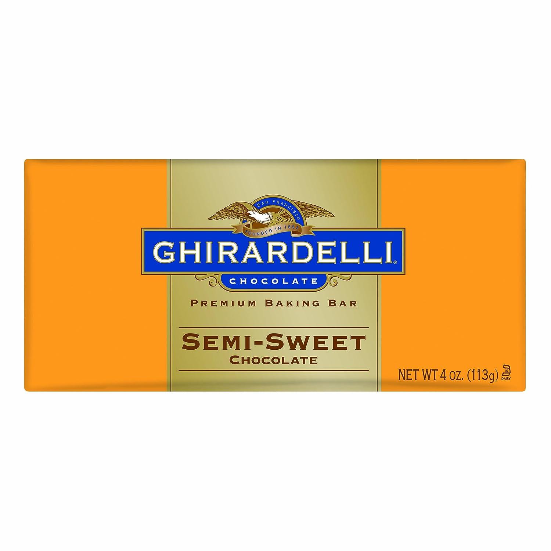 Amazon.com : Ghirardelli Chocolate Baking Bar, Semi-Sweet ...