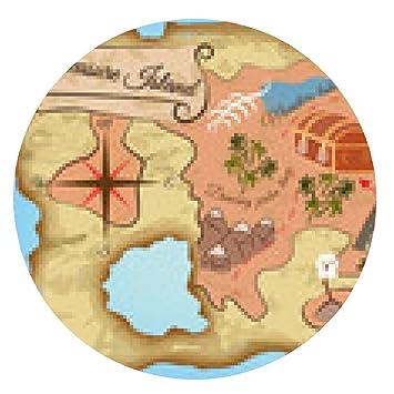 Mapa Isla Del Tesoro.Alfombrilla De Raton Mapa De La Isla Del Tesoro Ronda