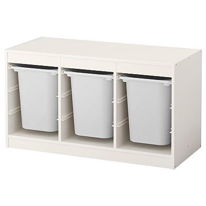 Zigzag Trading Ltd IKEA TROFAST - Combinación almacenaje con Cajas Blanco/Blanco