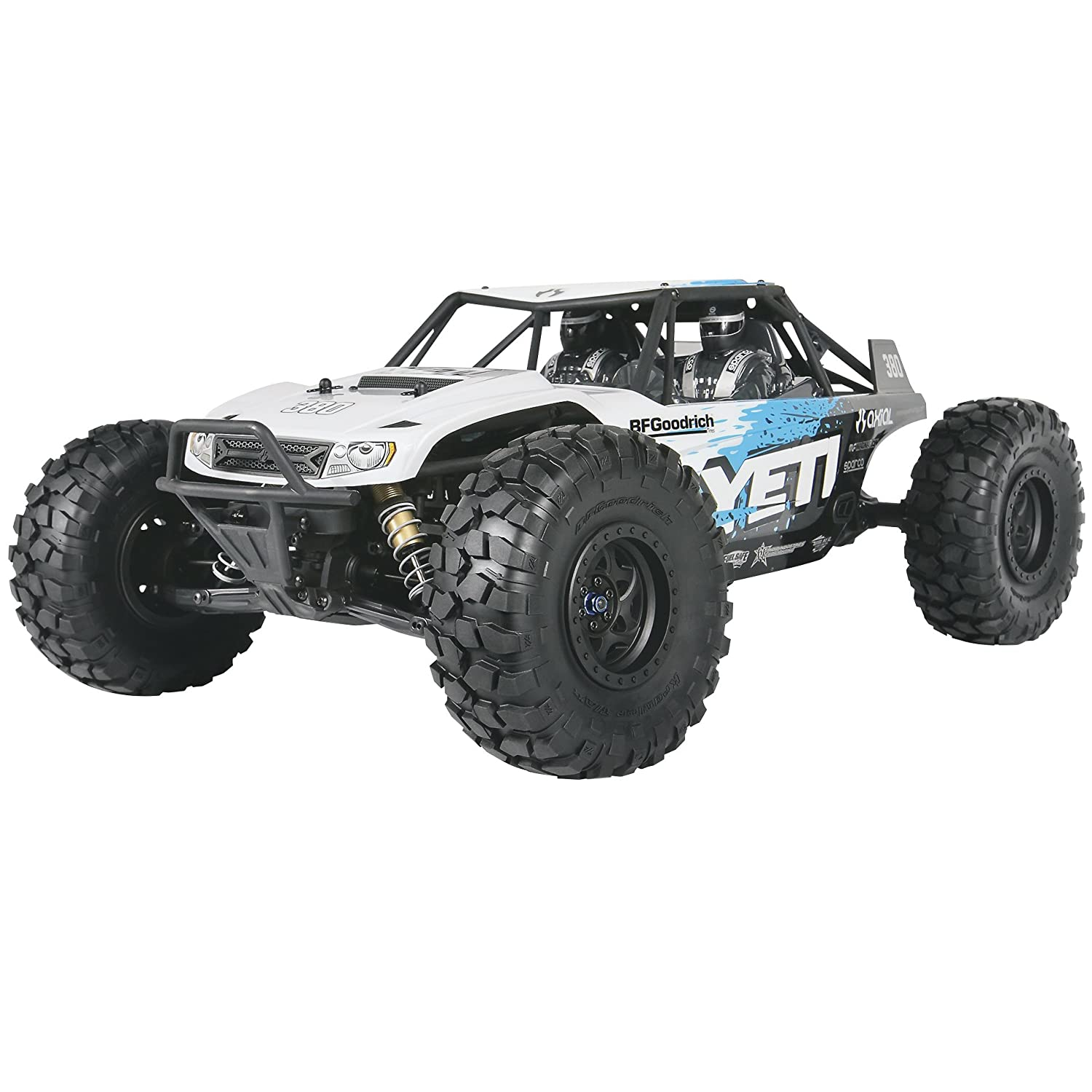 Amazon Axial Yeti 4WD RC Rock Racer f Road 4x4 Electric Ready to Run with 2 4GHz Radio and Waterproof ESC 1 10 Scale RTR Toys & Games
