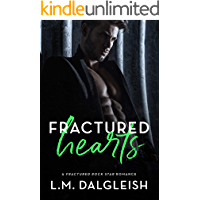 Fractured Hearts: A Fractured Rock Star Romance book cover