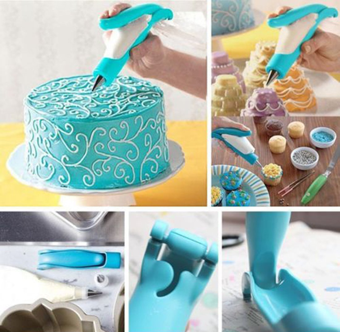 amazing-trading(TM) Pastry Icing Piping Bag Nozzle Tips Fondant Cake Sugar Tool Set