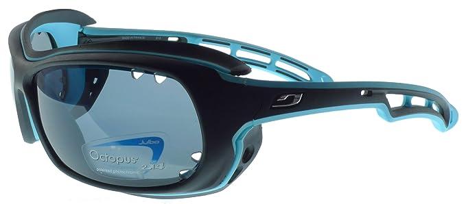 Gafas de sol Julbo Wave flotantes - Matt Negro / Azul - fotocromáticos polarizado lentes recubiertas Oleophobic: Amazon.es: Deportes y aire libre