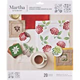 Martha Stewart Crafts Medium Stencils (8.75 by 9.75-Inch), 32259 Four Seasons (2 Sheets with 20 Designs)