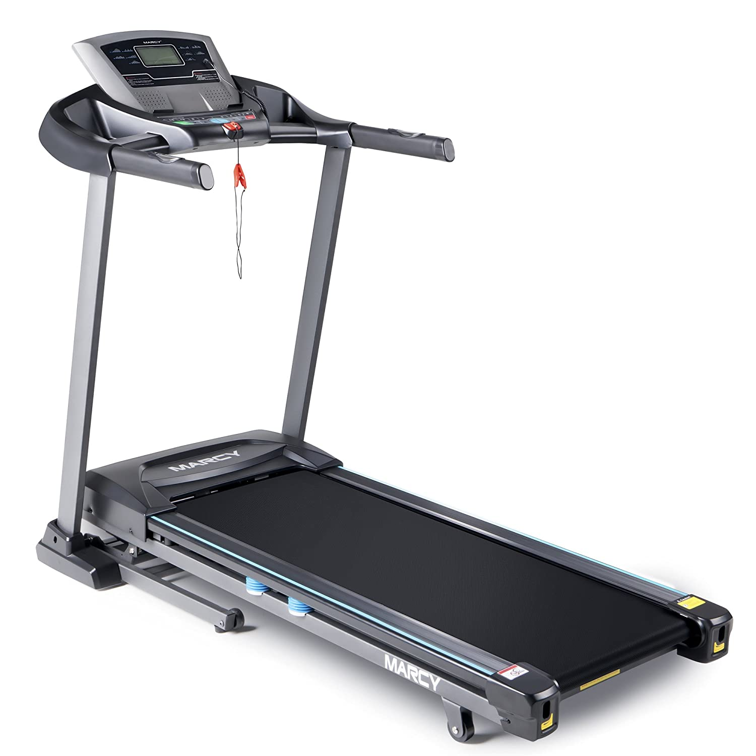 Amazon.com : Marcy Folding Motorized Treadmill/Electric Running Machine  with Auto Incline JX-663W : Sports & Outdoors