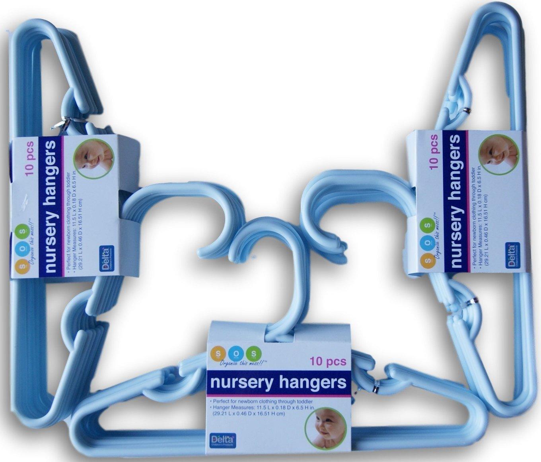 Delta Children 30 Pack Infant /& Toddler Hangers Fuchsia
