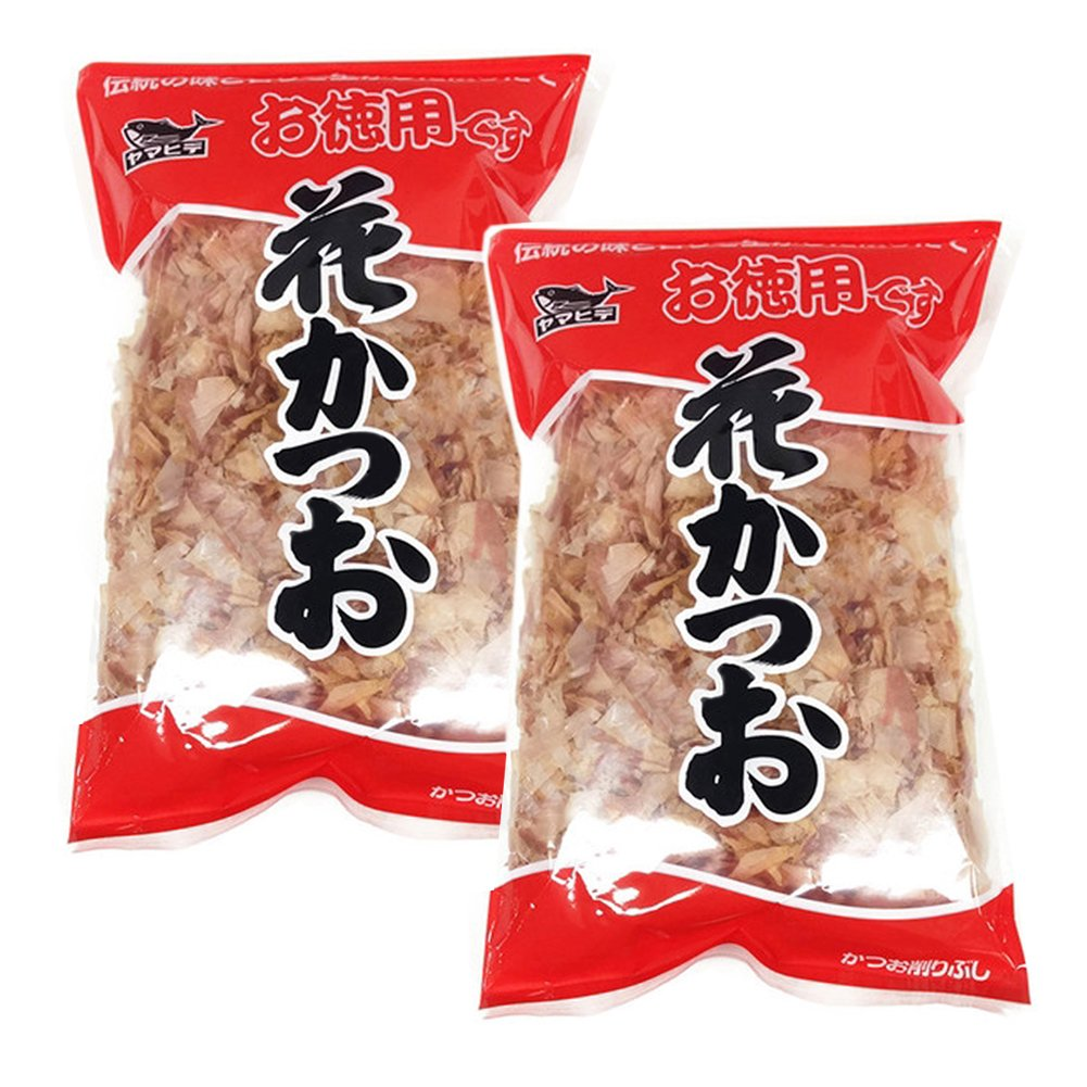 [ 2 Packs ] Yamahide Hanakatsuo Japanese Bonito Flakes 2.82 Ounces