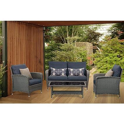 Amazon.com: View & co - Juego de muebles seccionales para ...