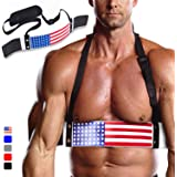 DMoose Arm Blaster for Biceps Triceps Bodybuilding Muscle Strength Gains Workout Equipment Training Contoured Bicep Blaster I