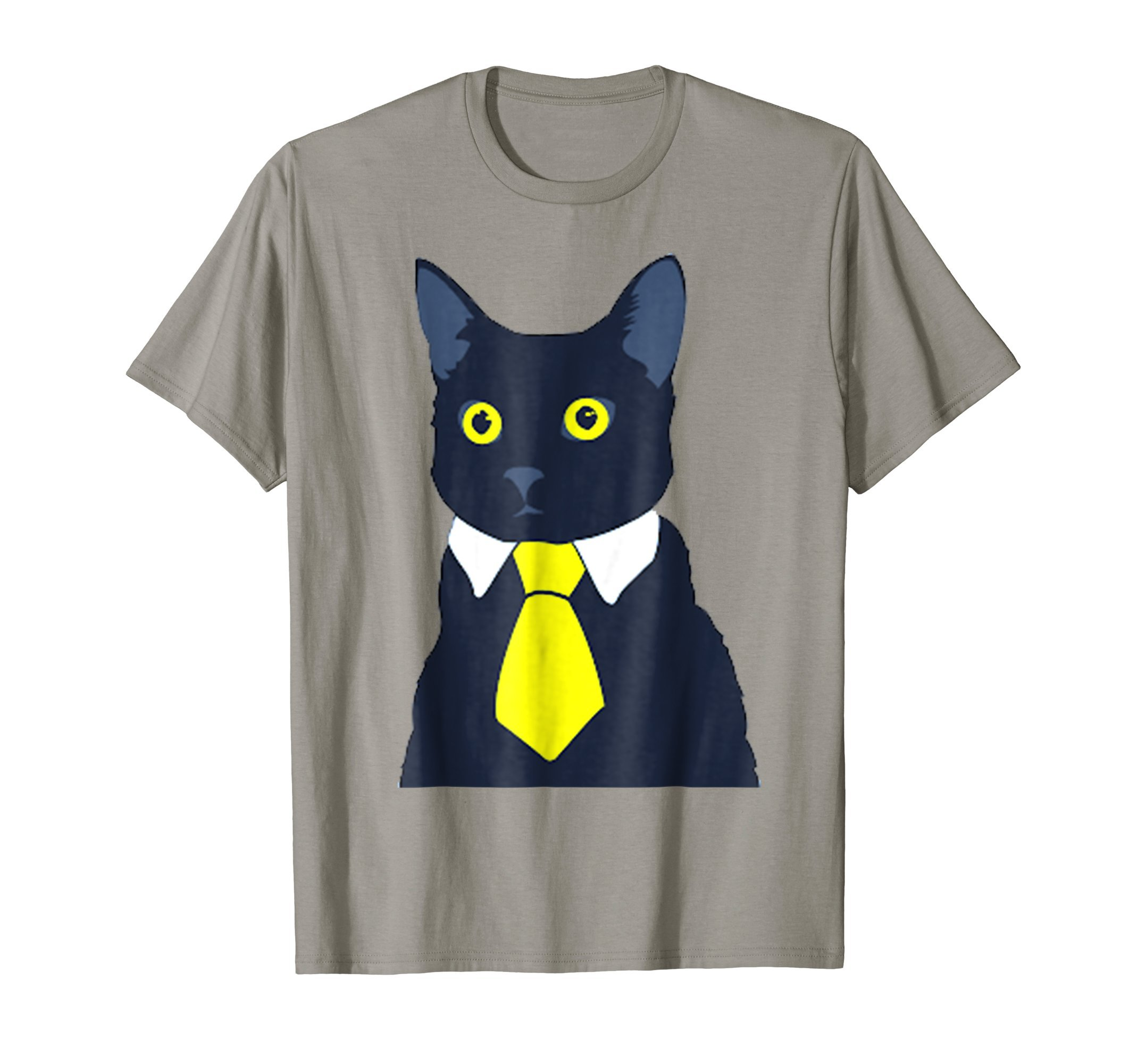 Funny Black Business Cat Kitten T-shirt Tee Tshirt by Funny Cat Lover Gift
