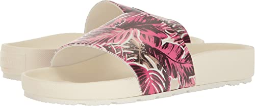 d0286df5e18 Hunter Women s Original Jungle Print Slide White Sandal