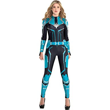 Amazon.com: Disfraz de Capitán Marvel Starforce de Halloween ...