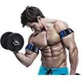 Occlusion Training Bands by BFR Bands, PRO Model, 2 Pack, Blood Flow Restriction Bands Help You Gain Muscle without Lifting Heavy Weights - Strong Elastic Strap + Quick-Release Cam Buckle