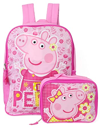 a2eb575d281c Peppa Pig Backpack with Detachable Insulated Lunch Box