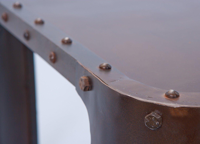 Tavolino Dim: 110x70x45 h cm Links Col: Argento Life A22 Mat: Metallo.