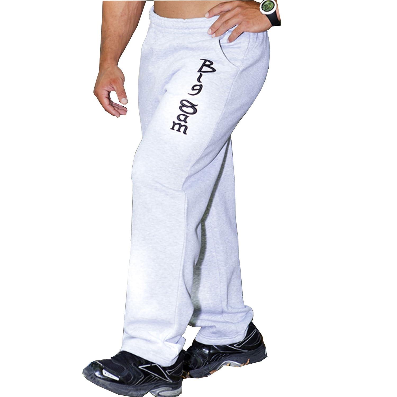 BIG SM EXTREME SPORTSWEAR Herren Bodyhose Jogginghose Sporthose Bodybuilding 977