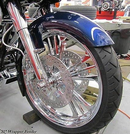 """21/"""" Wrap Front Fender For Harley Bagger Touring Street Glide FLHT FLHR FLHX FLTR"""